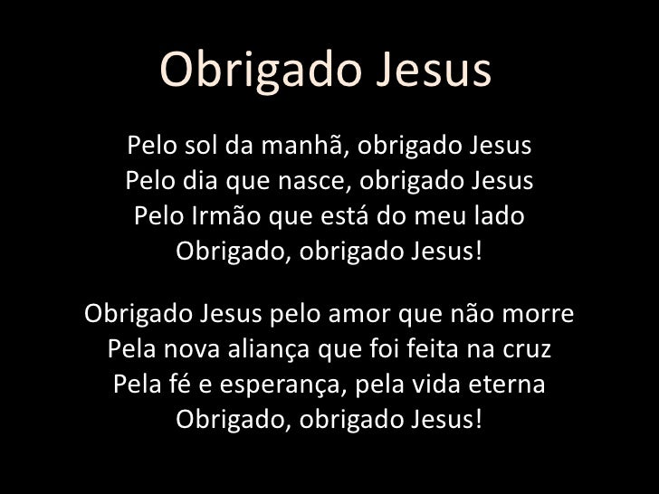 Obrigado Jesus (Alda Celia