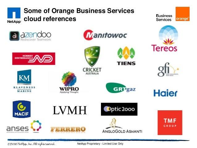netapp epic story orange business services. Black Bedroom Furniture Sets. Home Design Ideas