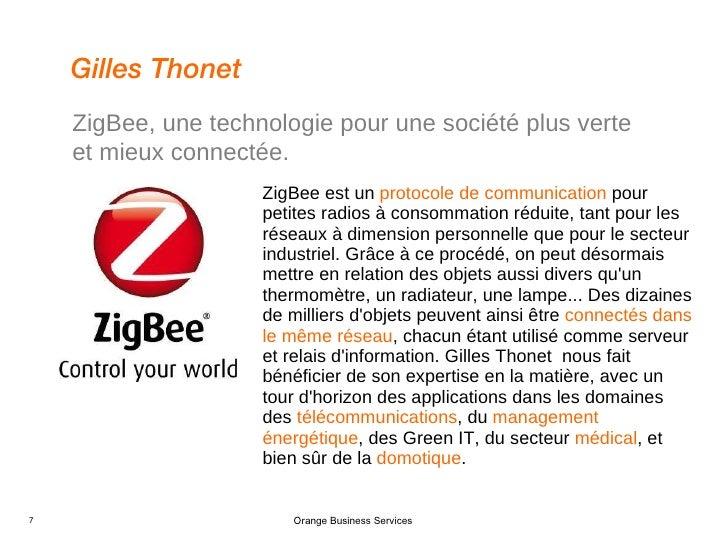 <ul><li>ZigBee est un  protocole de communication  pour petites radios à consommation réduite, tant pour les réseaux à dim...