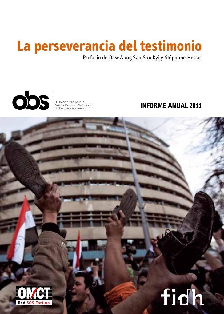 Informe Anual 2011                                                                                                        ...