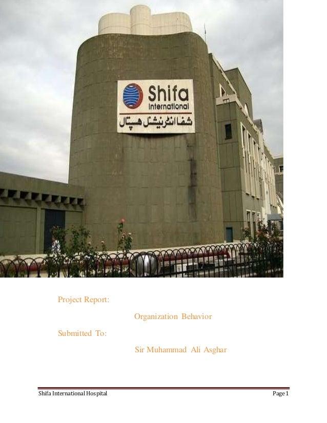 Shifa International Hospital Page 1 sssssssssssssssssssssssssssssssssssssssssssssssssssssssssssssssssssssssss Project Repo...
