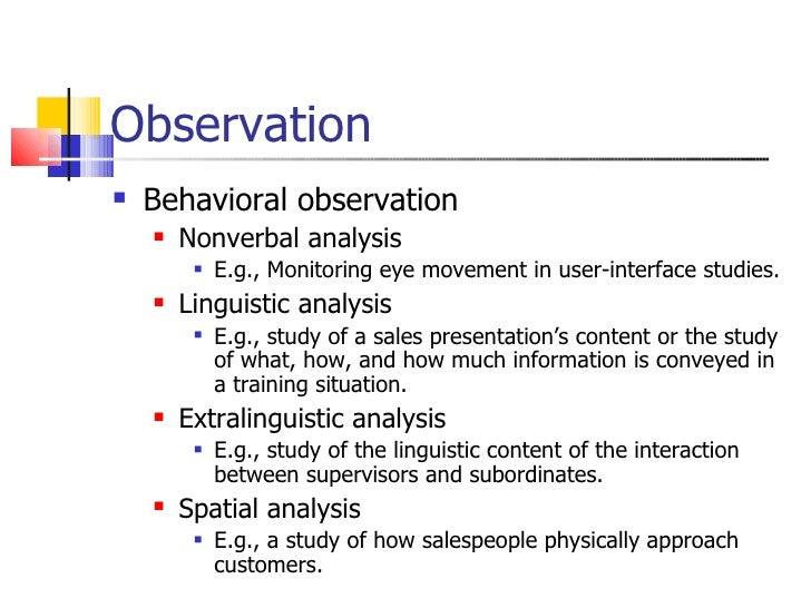 nonverbal observation essay example View and download observation essays examples also discover topics, titles, outlines, thesis statements, and conclusions for your observation essay.