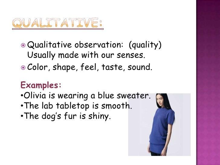 Observation Inference