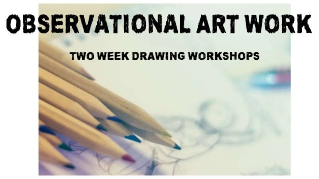 This week, we would like you to produce a series a small obseravtional drawings from your photographs. We would suggest at...