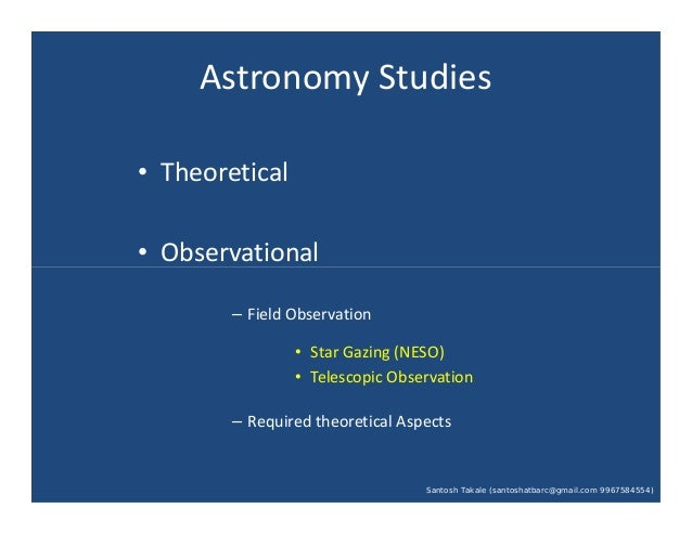 Observational Parameters by Santosh Takale at MU Astro Basic (27-10-13).pdf Slide 2