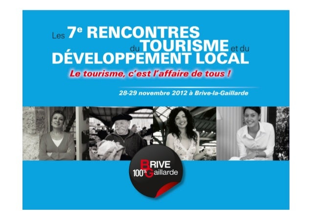 Le tourisme est en pleine mutation !Tous les acteurs du tourisme, collectivités, entreprises et organismessont confrontés ...