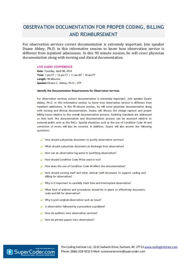 The Coding Institute LLC, 2222 Sedwick Drive, Durham, NC 27713 www.codinginstitute.com Phone: (866)-228-9252 E-Mail: custo...