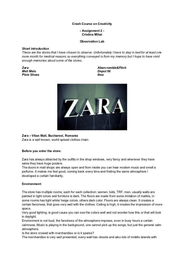 Crash Course on Creativity                                            - Assignment 2 -                                    ...