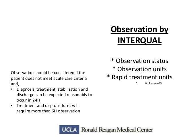 observation medicine nursing considerations rh slideshare net