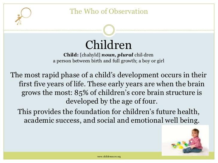 child development toddlers observation essay