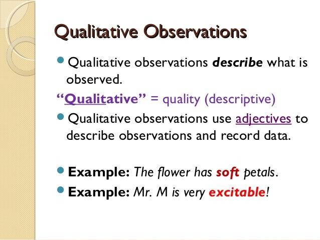 Observations vs-inferencespart one