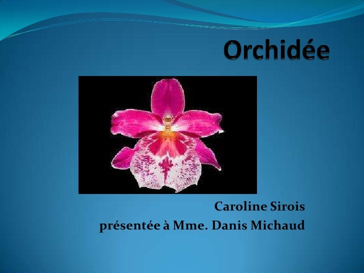 Caroline Siroisprésentée à Mme. Danis Michaud