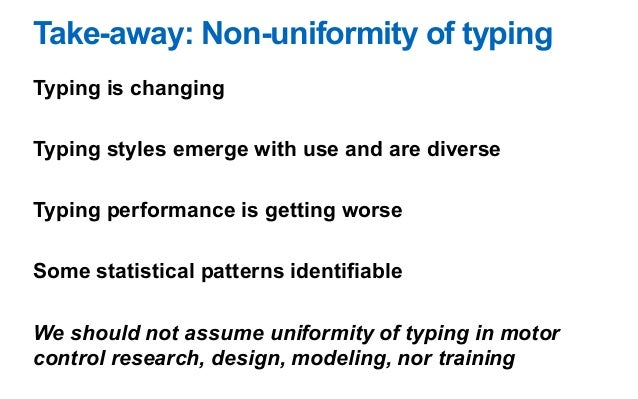 How to become a faster typist (without learning touch-typing)?