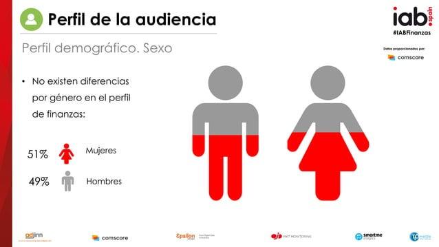 #IABFinanzas 49% 51% Hombres Mujeres • No existen diferencias por género en el perfil de finanzas: Datos proporcionados po...