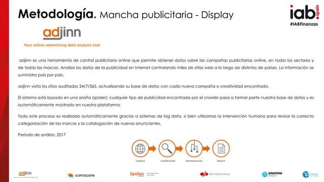 #IABFinanzas adjinn es una herramienta de control publicitario online que permite obtener datos sobre las campañas publici...