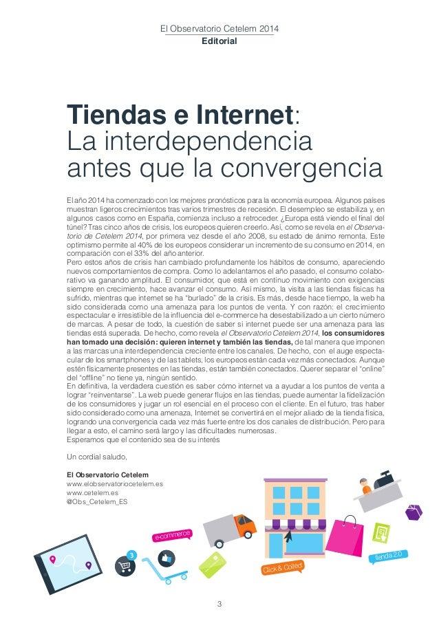 Cetelem Observatorio 2014: Tiendas e Internet: La