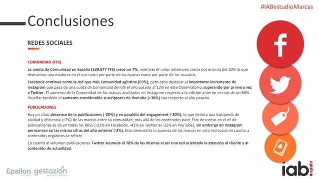 #IABestudioMarcas COMUNIDAD (FFS) La media de Comunidad en España (539.877 FFS) crece un 7%, mientras en años anteriores c...
