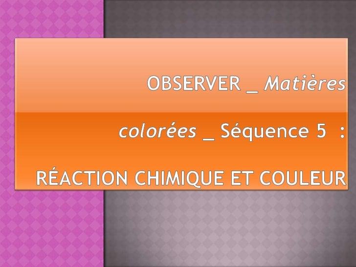  Les  pigments sont des substances colorées  insolubles dans le milieu où elles sont  dispersées. Les colorants sont des...