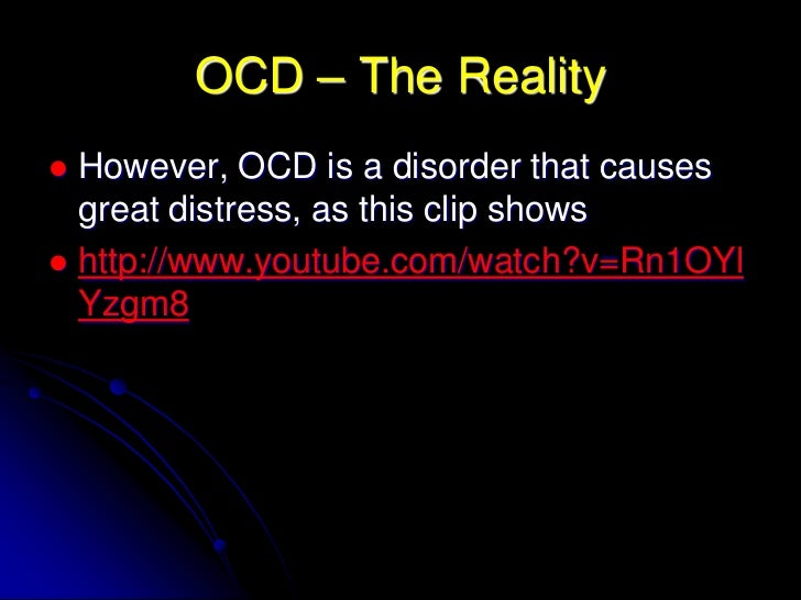 ocd in the aviator Exploring the role that obsessive compulsive disorder (ocd) had to play in the demise of howard hughes.