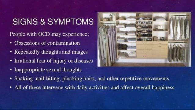 Obsessive compulsive disorder power point (ocd)