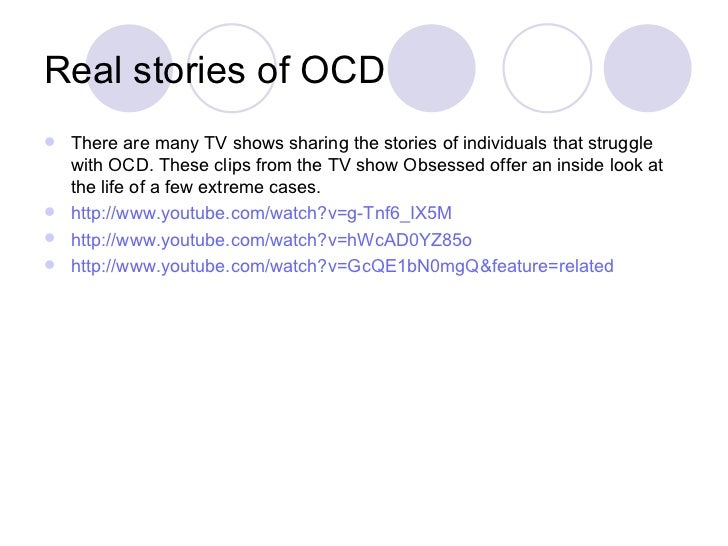 a study of obsessive compulsive disorder Obsessive-compulsive disorder (ocd) is a relatively common, if not always recognized, chronic disorder that is often associated with significant distress.