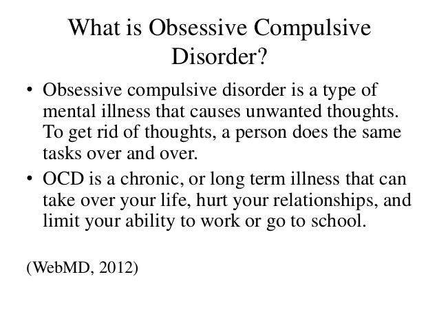 an introduction to the issue of obsessive compulsive disorder Obsessive-compulsive disorder and millions of other books are available for   disorder: etiology, phenomenology, and treatment provides an introduction to   a thorough and accurate ocd book to help me understand the issues faced by.
