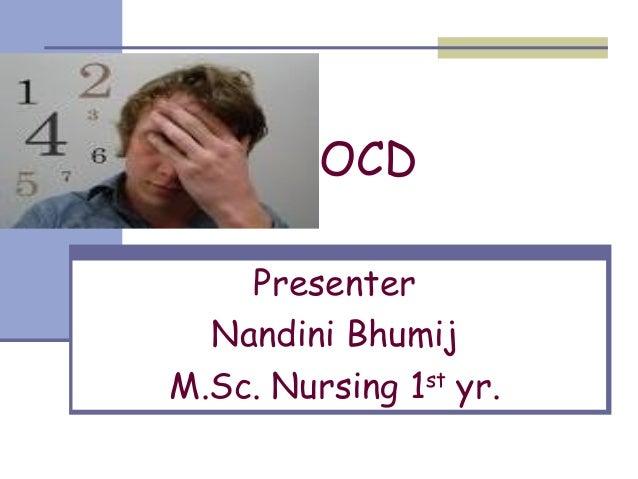 Obsessive compulsive disorder Slide 2