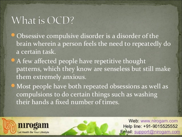 the symptoms and treatment of the obsessive compulsive disorder Although ocd is a serious mental illness, learn about the treatments that will significantly reduce ocd symptoms, including alternative treatments.