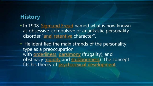 Anal compulsive disorder