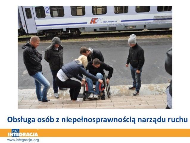 Obsługa osób z niepełnosprawnością narządu ruchu