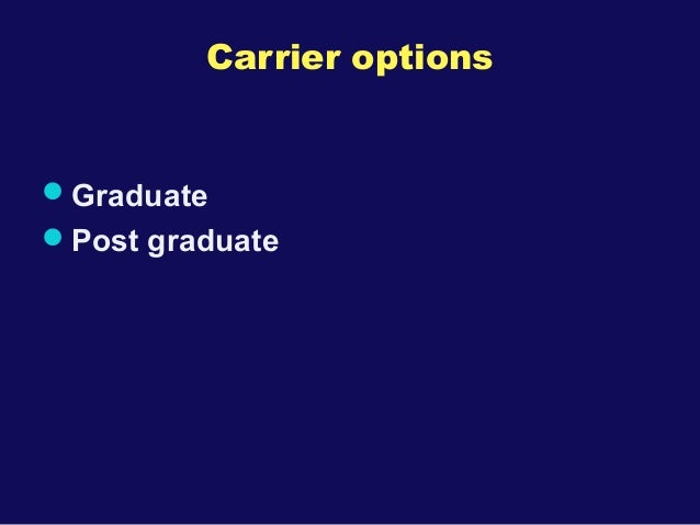 Best carrier options after 12
