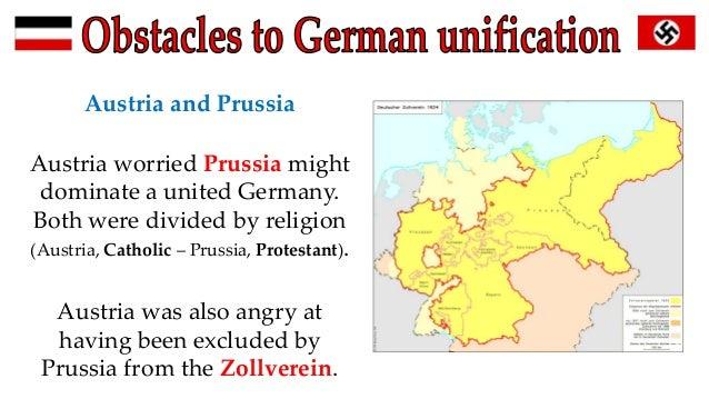 Map Of Zollverein Germany.German Austria Unification