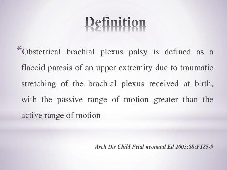 traumatic brachial plexus injury pdf
