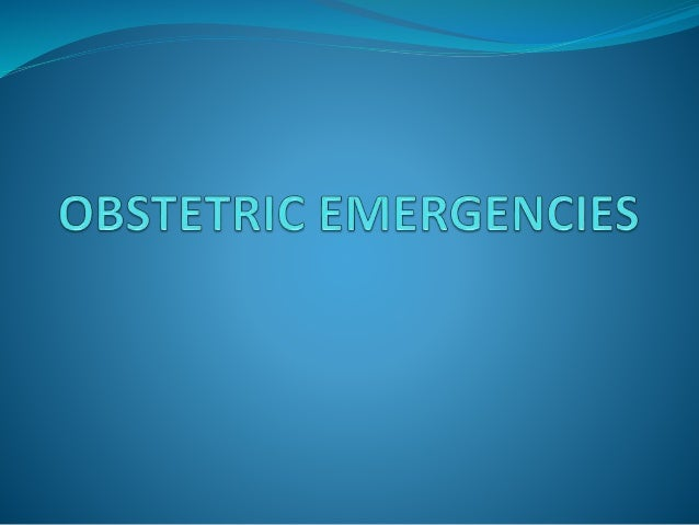 Top Emergencies