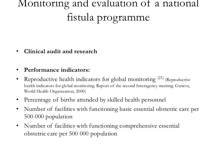 obstetric fistula Ii who library cataloguing-in-publication data obstetric fistula: guiding principles for clinical management and programme development editors: gwyneth lewis and luc.