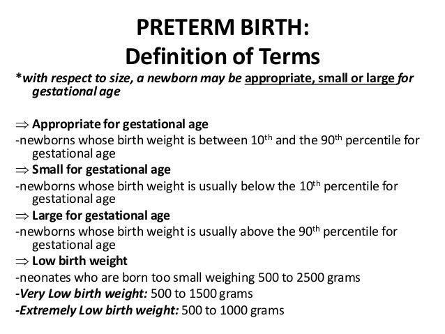 Obstetrics-Preterm Birth