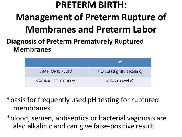 sperm cause false ferning positive can