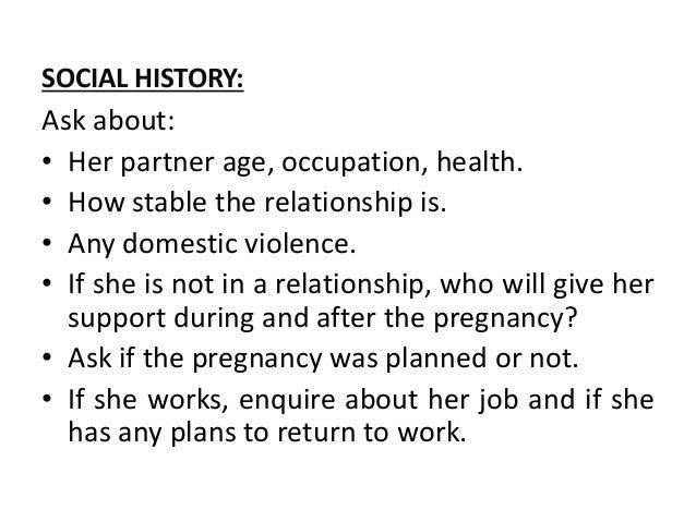 Obstetrics History taking/ Examination