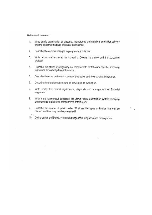 ob gyn research paper