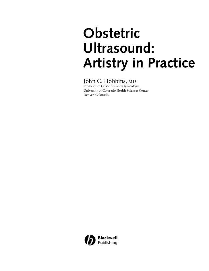 obstetric ultrasound hobbins john c
