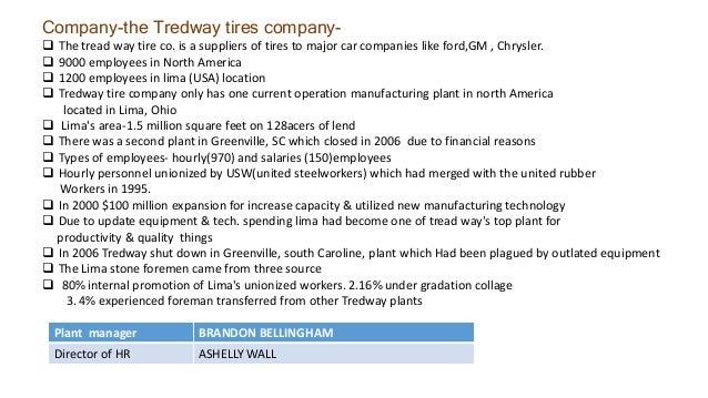 treadway tire company website