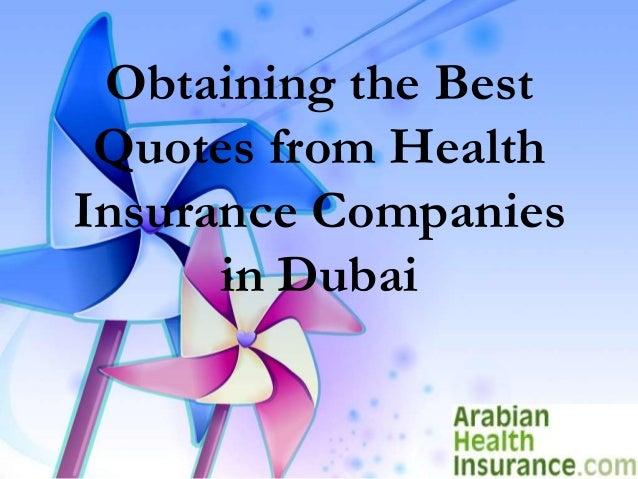 Health Insurance Companies >> Obtaining The Best Quotes From Health Insurance Companies In