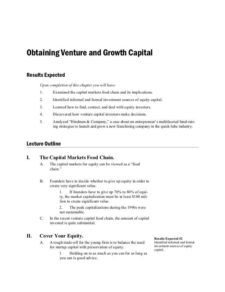 New Capital _ Obtaining venture n growth capital utem