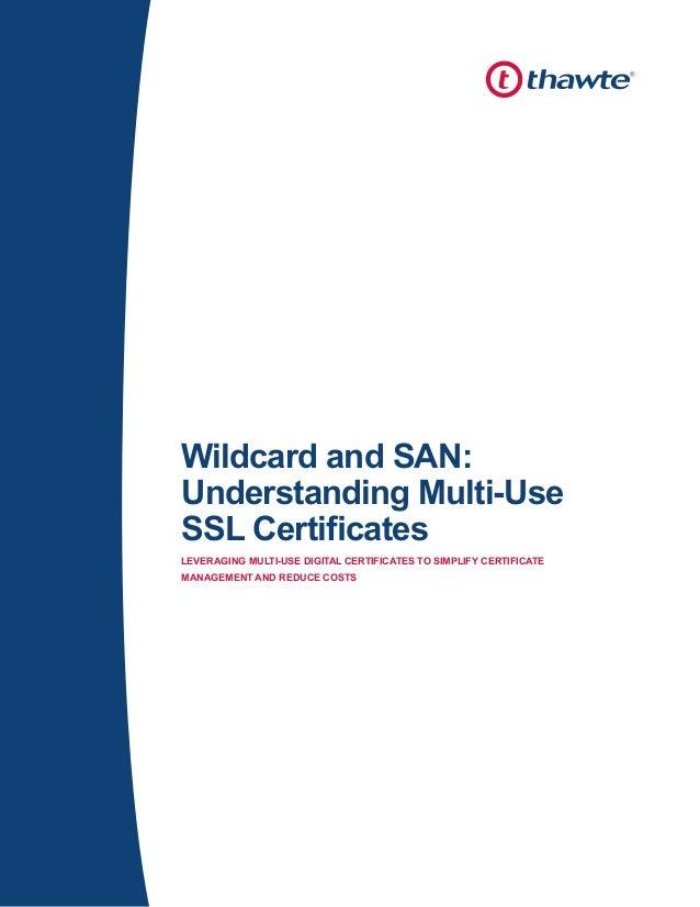 Obtain San Ssl Or Multi Domain Ssl Process Rapidsslonline
