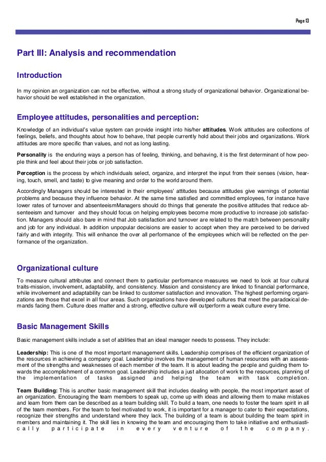 organizational diagnosis essay An organizational analysis and diagnosis was conducted on giga-net solutions (gns) from the symbolic-interpretive and modernist organization theory perspectives gns structure, technology, and organization environment has a major impact on the organization success and management this paper strives .