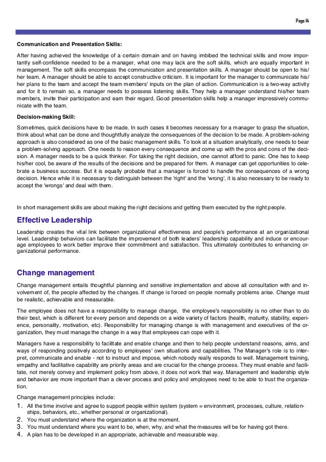Organisational behaviour essay