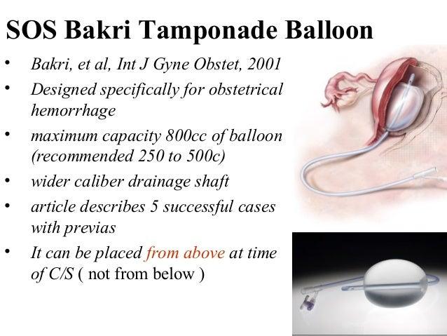 uterine vaginal balloons