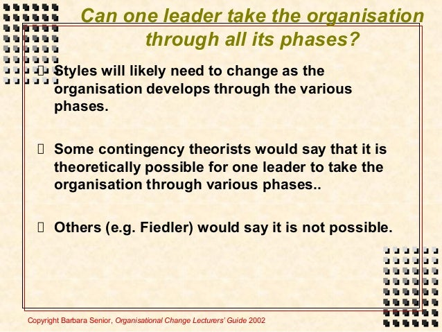 change management styles dunphy and stace Therefore to accommodate situational aspects of change, the dunphy and stace  the style of change management  a high distinction assignment done by a.