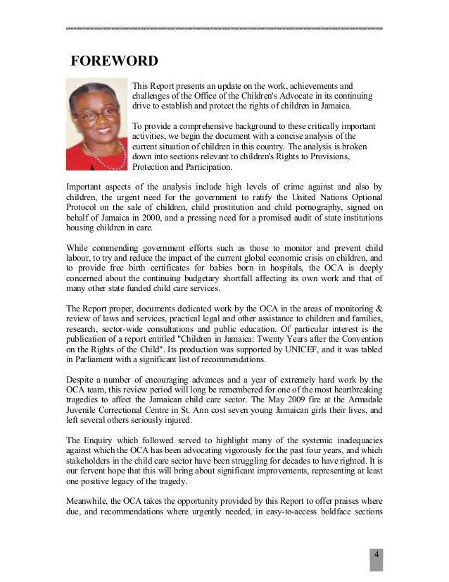 child advocacy essay Because young children are not able to make complex decisions for  an ethical  and legal duty to advocate for the best interests of the child.