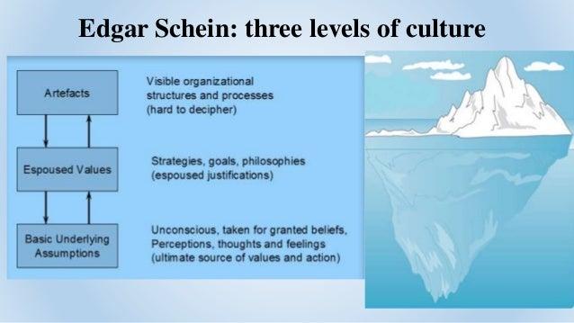 Edgar Schein Model of Organization Culture
